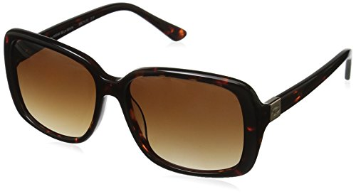 Oscar by Oscar De La Renta Women's Ssc5133 Rectangular Sunglasses, Tortoise, 55 - Oscar Sunglasses