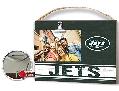 KH Sports Fan Clip It Colored Logo Photo Frame New York Jets