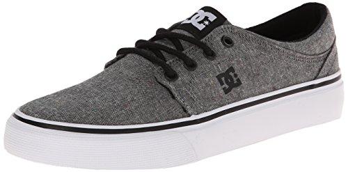 DC Unisex Trase TX SE Skate Shoe, Black, 11 M US