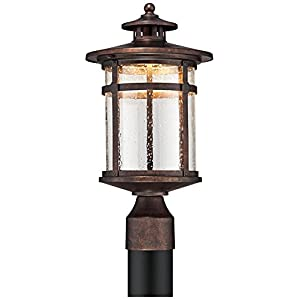 "Callaway Rustic Bronze 16"" High LED Post Light"