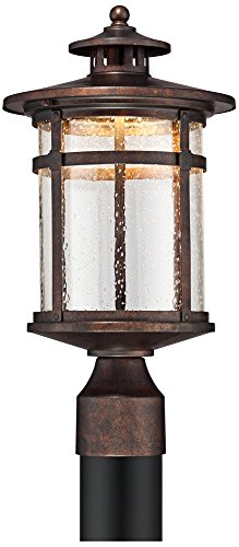 Callaway Rustic Bronze 15 1/2'' High LED Post Light by Franklin Iron Works