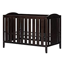 South Shore Furniture Crib and Toddler Bed, Espresso