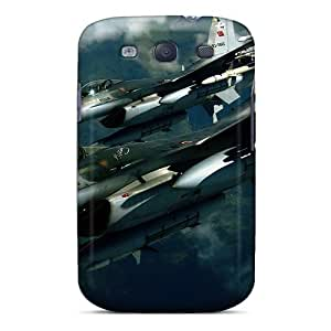 FvPizUb610YyfIP Anti-scratch Case Cover Mialisabblake Protective F-16 Planes Case For Galaxy S3