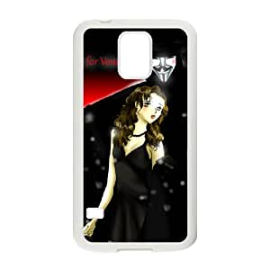 D-PAFD Customized Print V for Vendetta Hard Skin Case For Samsung Galaxy S5 I9600