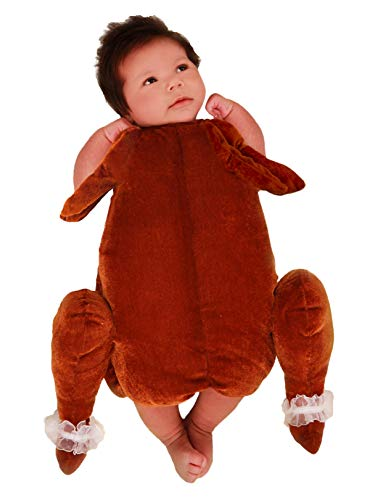 Princess Paradise Baby's Little Turkey Deluxe Costume, As Shown, 0/3M ()