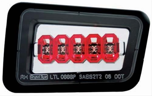 IPCW LEDT343BPC Crystal Eyes Back Up Light- Led44; 2005-2008 Hummer H2 from IPCW