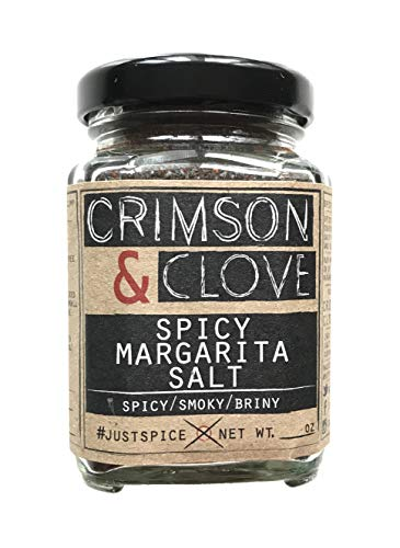 Spicy Margarita Cocktail Rimming Salt by Crimson and Clove (4.9 oz.)