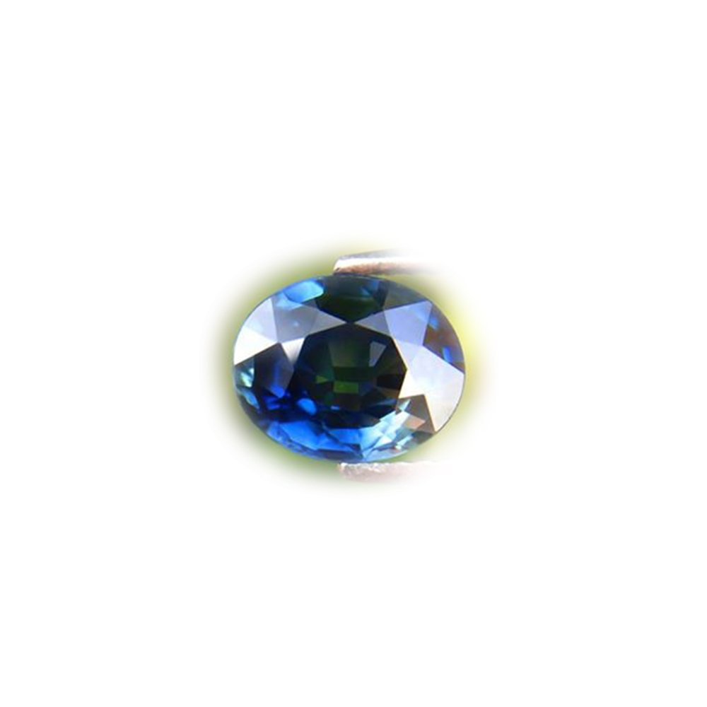 BEAUTIFUL 2.00ct Normal Heated Natural Oval Blue Sapphire Thailand #AB
