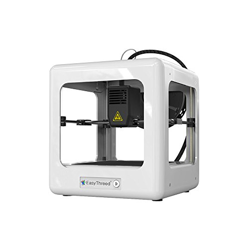 Walmeck EasyThreed Nano Entry Level Desktop 3D Printer for Kids Students No Assembling Quiet