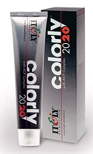 Italy Itly Hairfashion Colorly 2020 With ACP Complex 1B Night Blue