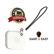 Key Finder & Key Ring Locator - Wireless Bluetooth Tracker 4.0 For Pets, Kids, Bag, Car Keys, Mobile phone, Wallet, Key Anti-lost Finder - Smart & Easy Slim Tracker