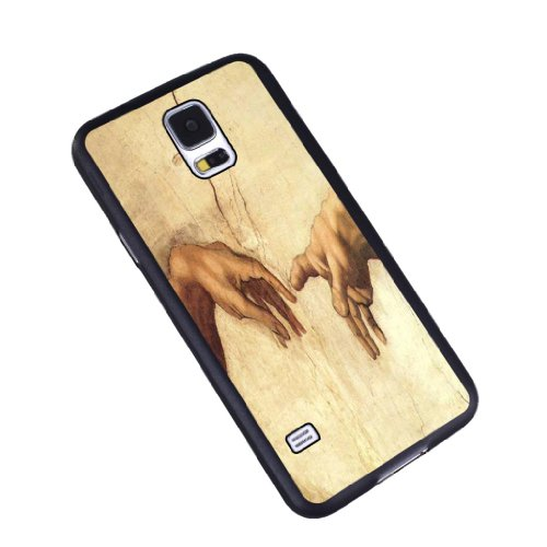 Michael Angelos God and Man - Samsung Galaxy S5 Glossy Black Case