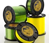 Ande AT1-30Y Tournament Monofilament, 1-Pound Spool, 30-Pound Test, Yellow Finish