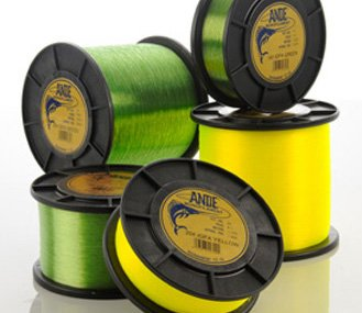 (Ande AT1-30Y Tournament Monofilament, 1-Pound Spool, 30-Pound Test, Yellow Finish)