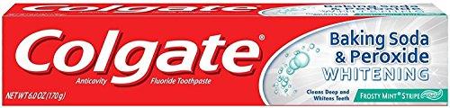 Colgate Baking Soda & Peroxide Whitening Toothpaste Frosty Mint Stripe ()