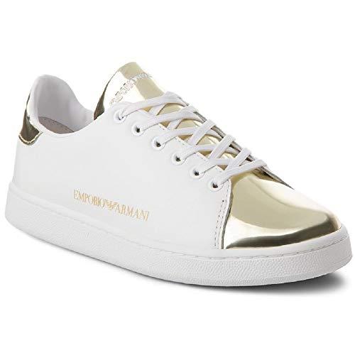 Armani Emporio 37 Femme Sneakers Blanc dUwRzxnUaq