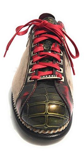 Harris Scarpe Uomo Treccia Fondo Calcetto Taupe Red Green U17HA69 Footaction Libre Del Envío Comprar Mejor MnCbGc