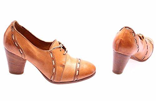 Mujer Tacones Beige Cuero In Lux Zapatos Italy Made Moma Nappa Lujo Bone Vintage dZgdq5H