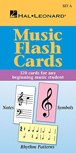 (Music Flash Cards - Set A: Hal Leonard Student Piano Library)