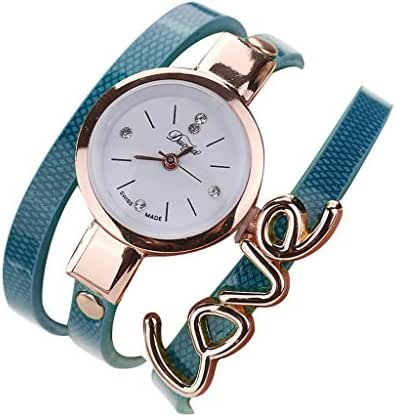 Ultramall BC95 Fashion Leather Strap Ladies Bracelet Watch Simple Small and Exquisite Dial