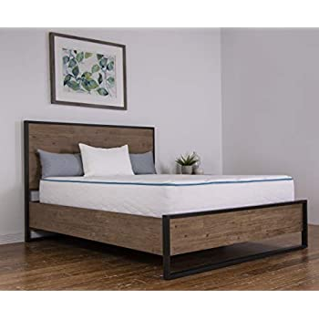 Image of Dreamfoam Bedding Arctic Dreams 10-Inch Cooling Gel Mattress, Queen Home and Kitchen