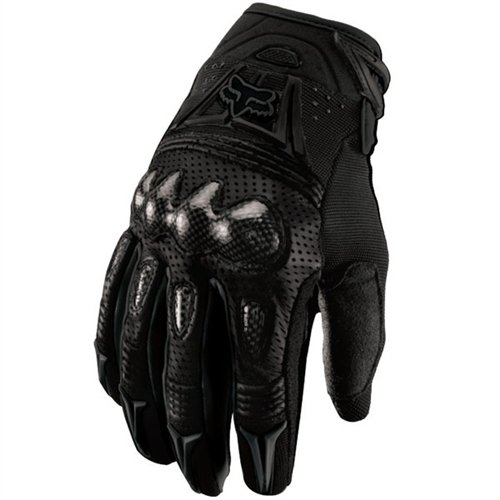 Mens Pittards Carbon - Fox Head Men's Bomber Glove, Black, Large