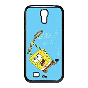 sponge Bob_002 TPU Case Cover for samsung s4 9500 Cell Phone Case Black