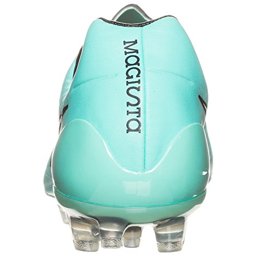 Nike Magista Opus AG–Botas de fútbol 649229Fútbol para césped artificial., color Plateado, talla 42 EU turquoise - turquoise 300