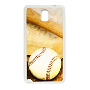 super shining day Best Baseball Art Pattern Samsung Galaxy Note 3 N9000 Back Covers With TPU Material