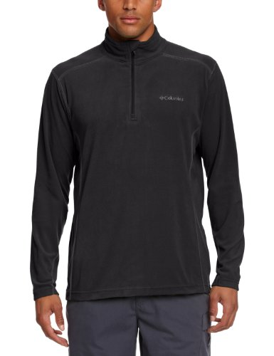 Columbia Herren Klamath Range II Half Zip, Black, M, EM6503
