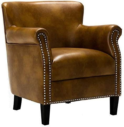Comfort Pointe Club Chair in Camel