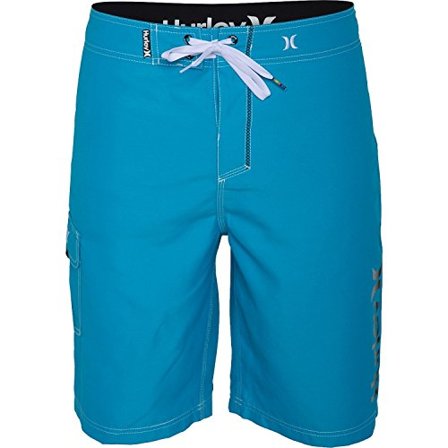 Hurley Men's One & Only Logo 22'' Board Shorts Blue Lagoon 40