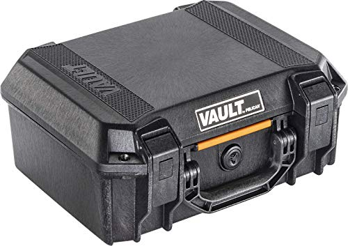 Vault V200 Pistol Case with Foam - by Pelican (Black)