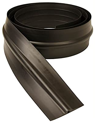Garage Shield GS10 Black 10 Ft Garage Door Threshold with Adhesive