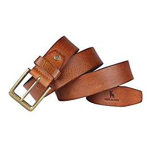 HIDE & SKIN Rosso Men's Leather Belt