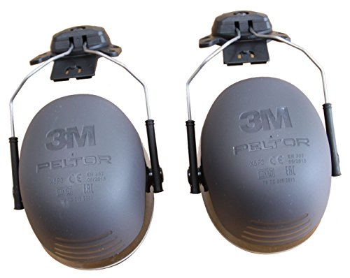 3M Peltor XSeries CapMount Earmuffs, NRR 31 dB, One Size Fits Most, Black X5P3E (Pack of 1) by 3M Personal Protective Equipment (Image #6)