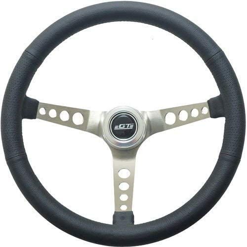 GT Performance 35-5445 Retro Leather Steering Wheel