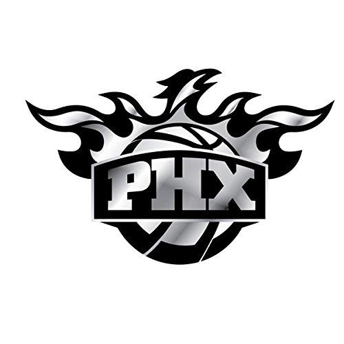 (NBA Phoenix Suns Chrome Automobile Emblem)