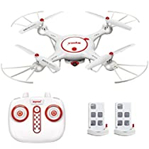 Syma X5UC RC Drone with HD Camera 2.4Ghz RC Quadcopter with Altitude Hold and One Key Take Off and Landing