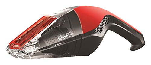 Dirt Devil Handheld Cleaner Quick Flip 12 Volt Lithium Cordless Red Hand Vacuum BD30015
