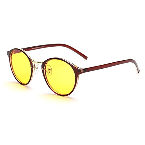 LENSTAR DSG800044C3 New Style Retro women's Sunglasses,Classic Full - Sunglasses Liive