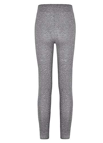 Romacci Women Sports Yoga Leggings Solid Wide Waist Sportswear Fitness Skinny Bodycon Pants Trousers by Romacci (Image #1)