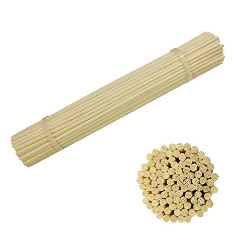 Diffuser Sticks (Reed Diffuser stick, 8'' X 3MM 105pcs Aroma Reed Diffuser Rattan Neutral Package)