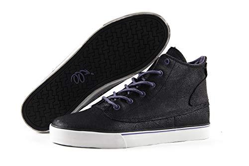 "TWEAK ""Thomas Men's Mid-Top Leather Skate Shoes Soft Sole Fashion Sneakers"
