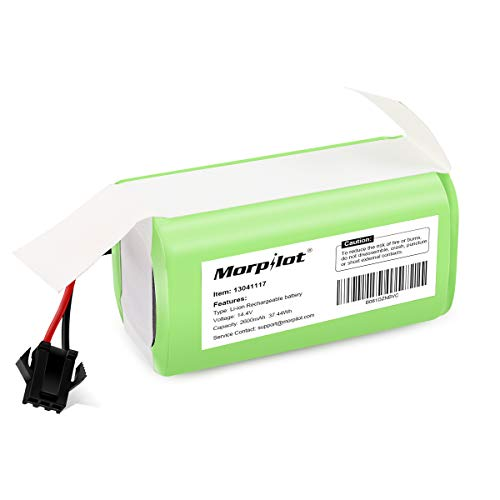Buy morpilot 14.4v 2600mAh Li-ion Rechargeable Replacement Battery Compatible with Deebot N79S, DN62...