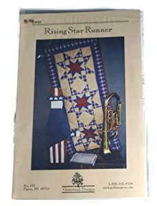 Graywood Designs Rising Star Table Runner 20 x 44 Inches