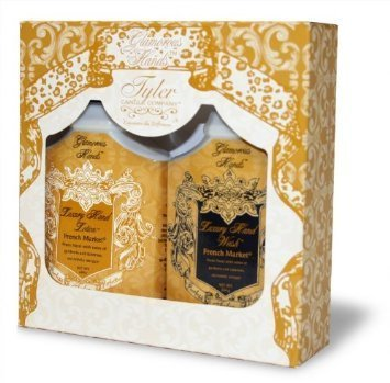 Tyler Candle Glamorous Hand Gift Set,High Maintenance by Tyler