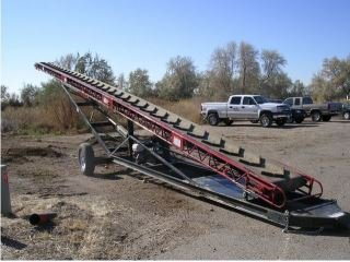 Redline Conveyors, 16 Inch Belt, Hd1636, Description: 1 1/4 Inch Tubing, Belt Size: 16 Inch, Length: 36 Feet, D144-2-36