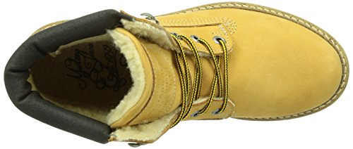 Mustang 2837601 - Botas de cuero mujer Amarillo - Jaune (66 Camel)