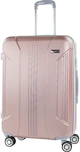 American Green Travel Denali 26 Inch Expandable Hardside Checked Spinner Luggage